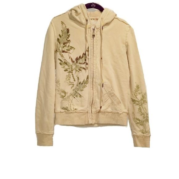 MISS ME bohemian fern hoodie